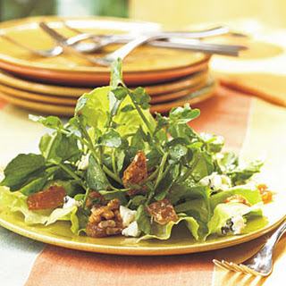 Watercress Salad with Blue Cheese and Praline