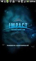 Screenshot of The Impact Radio Network