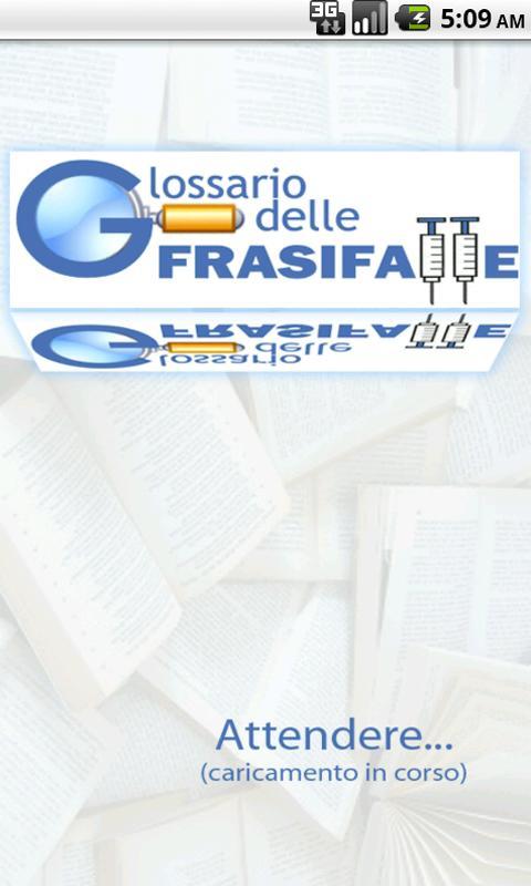 Glossario delle Frasi Fatte - screenshot
