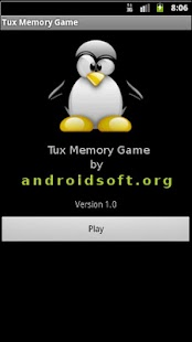 Tux Memory Game - screenshot thumbnail
