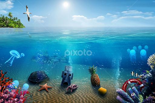 Cast of Happy Days Invades SpongeBob s Bikini Bottom     Bikini Bottom Sanitation Police