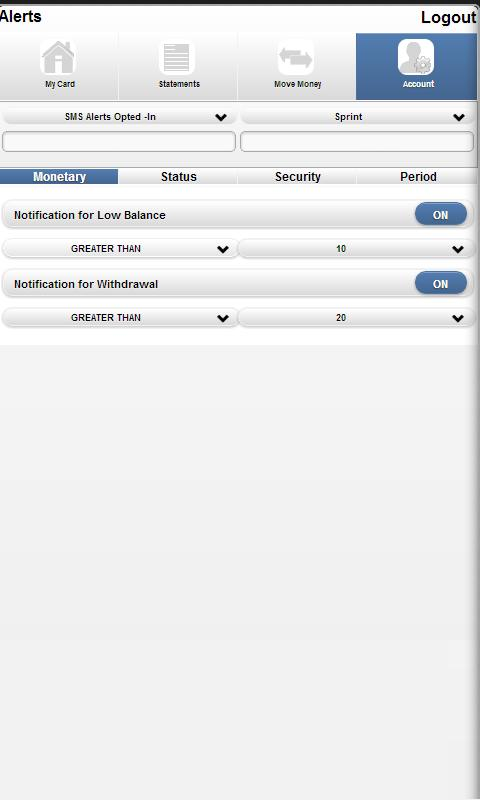 Acceluraid Mobile SelfService - screenshot