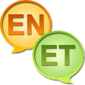 English Estonian dictionary icon