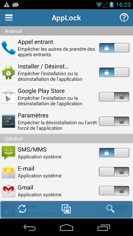 Serrure(AppLock) - screenshot