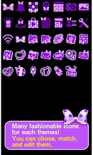 Purple polka dot for [+]HOME- screenshot thumbnail