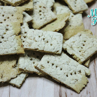 Gluten-free White Bean Crackers