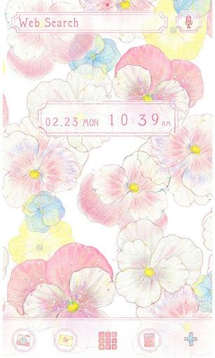 Flower Theme -Gentle Pansies- 1.0.0 Windows u7528 1