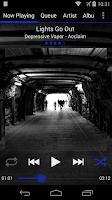 Screenshot of GMMP Holo Dark Blue Skin