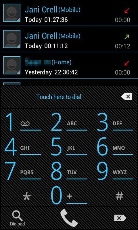 ICS PRO GoWidget Sms Contacts - screenshot