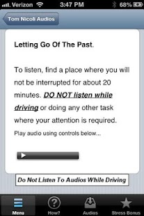 Letting Go Of the Past- screenshot thumbnail