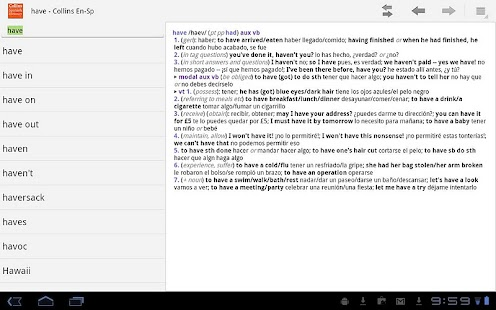 Collins Spanish Dictionary TR|玩書籍App免費|玩APPs
