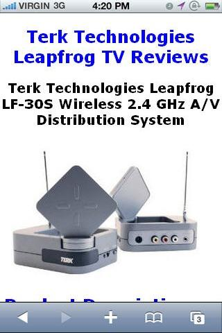 Technologies Leapfrog Reviews
