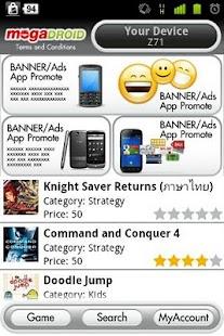 mogaDROID beta - screenshot thumbnail