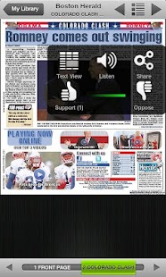 Boston Herald e-Edition - screenshot thumbnail