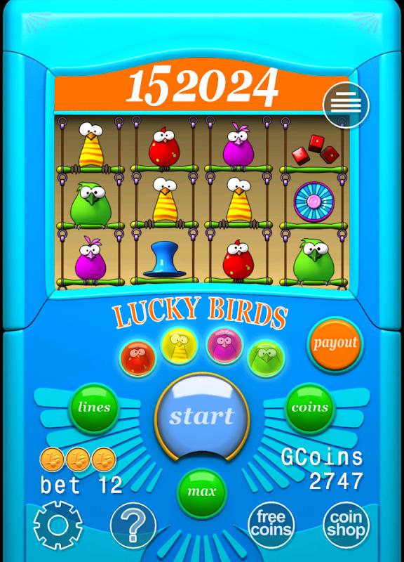 Birds описание игрового автомата
