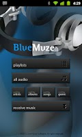 Screenshot of BlueMuze (Trial)