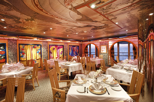 Costa-Pacifica-Samsara-Restaurant - Reservations and a surcharge are required for Costa Pacifica's Samsara Restaurant.