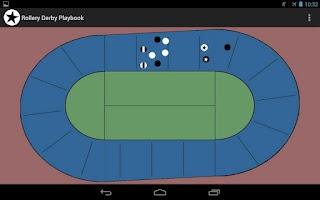 Screenshot of Roller Derby Playbook
