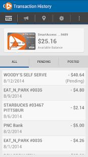 SmartAccess Prepaid Visa Card- screenshot thumbnail