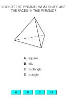 Screenshot of A+ ITestYou: Math Worksheets