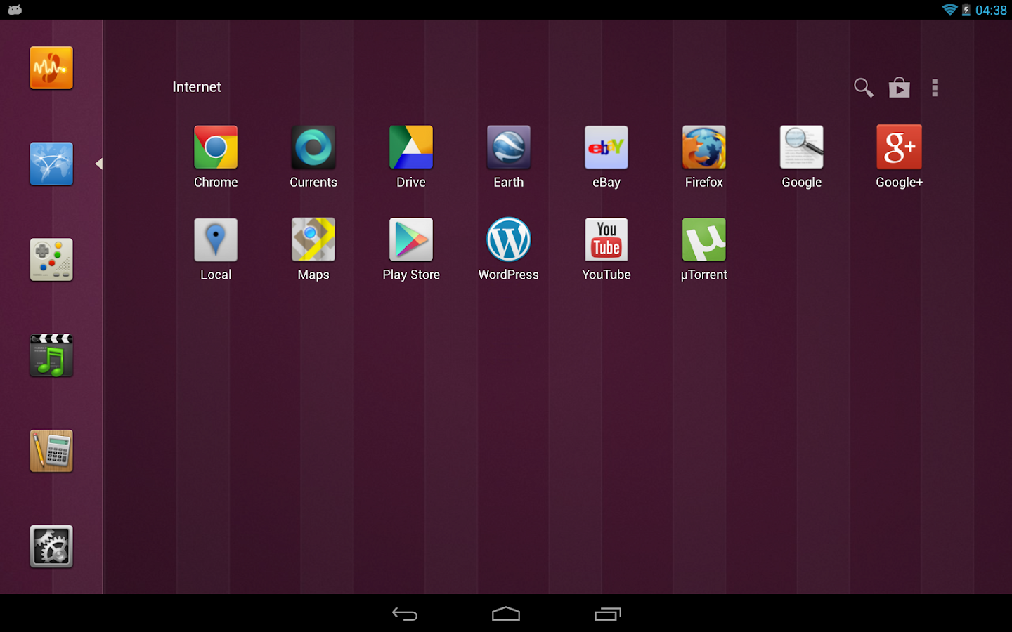 SmartLauncher Theme Ubuntu - screenshot