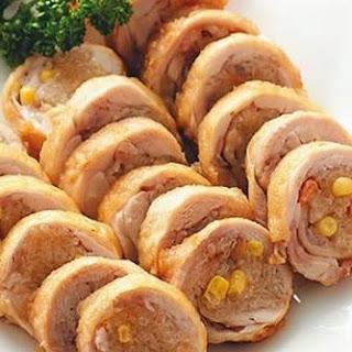Eight Treasures Chicken Roll