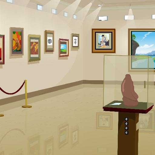 艺术画廊逃生