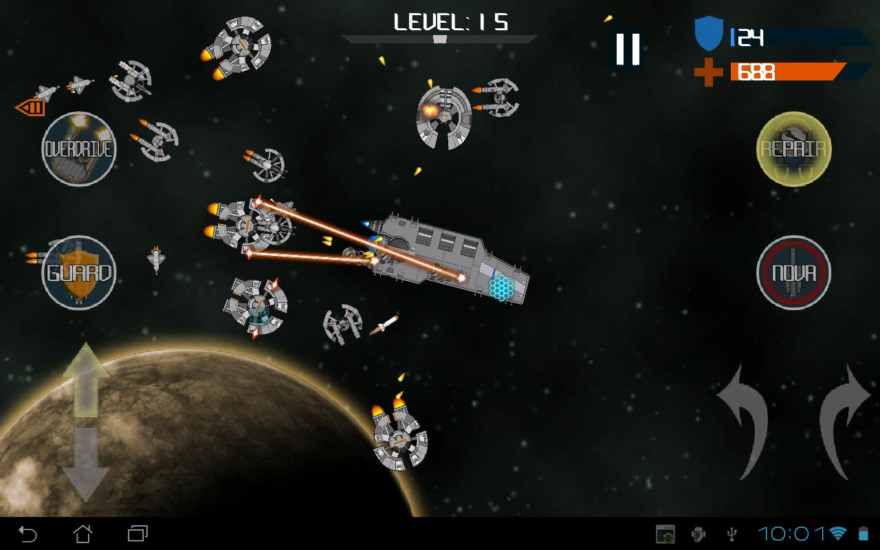 Galactic Horde Free - screenshot