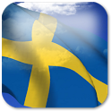 3D Sweden Flag icon