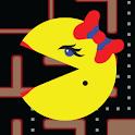 Ms. PAC-MAN Demo by Namco logo