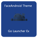 FaceAndroid Theme GoLauncherEX icon