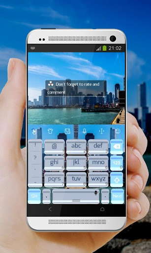 玩個人化App|オーシャンシティキーボード免費|APP試玩