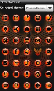 PhoenixFlame GoLauncherTheme - screenshot thumbnail