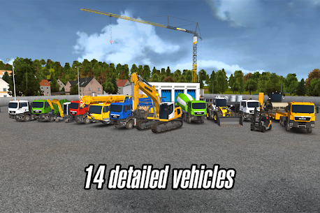Construction Simulator 2014 v1.11 Mod APK+OBB 2
