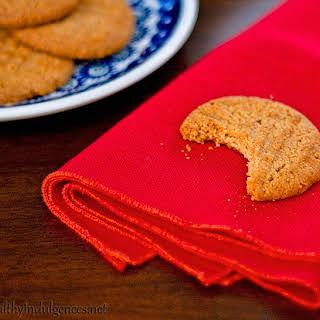 Healthier Peanut Butter Cookies (Gluten-Free, Low Sugar).