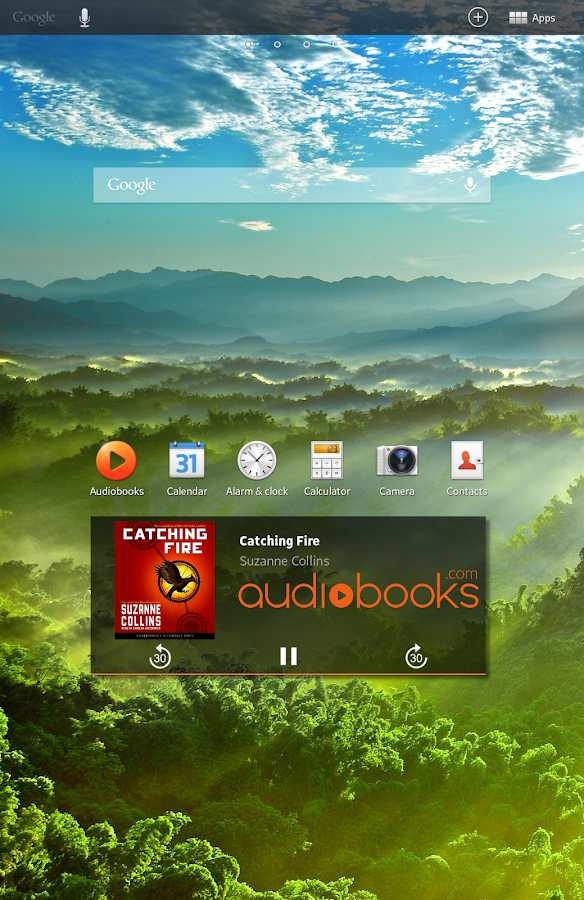 Audiobooks - screenshot