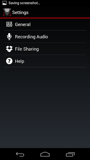 Voice Recorder HD 1.1.0 screenshots 3
