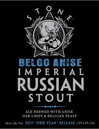 Logo of Stone Imperial Russian Stout Belgo 2010