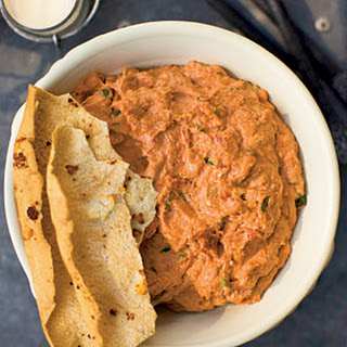 Roasted Garlic and Sun-dried Tomato Cheese Spread (Ossabaw Dip).