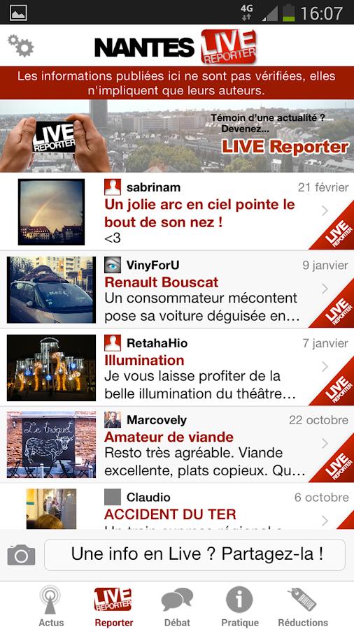 Nantes Live - screenshot