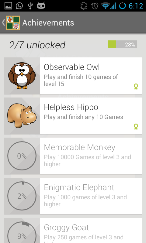 Memori - Memory Game - screenshot