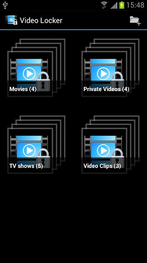 Video Locker Pro - screenshot