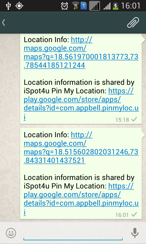 Pin My Location- screenshot