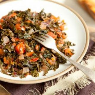 Kenyan-Style Kale and Tomatoes.
