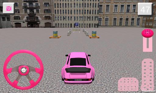 女孩停车场3D