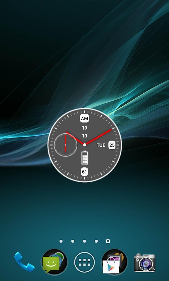 Maestro Clock Widget - screenshot