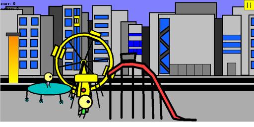 Super trampoline boy