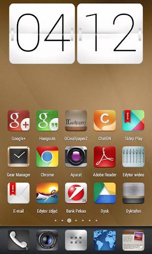 SimboX ADW Apex Nova Go Theme 1.4.8 screenshots 2
