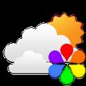 GO Weather Blue Classic Widget icon