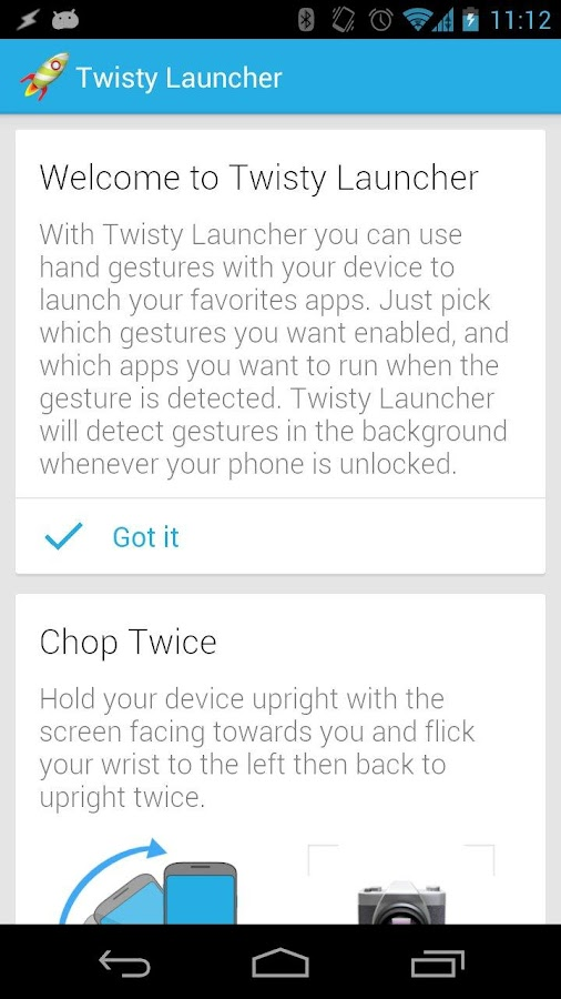 Twisty Launcher - screenshot
